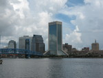 Jax Skyline from Southbank 2, Jacksonville, FL by George Lansing Taylor Jr.