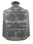 Centennial Building Commemorative Plaque, Port St. Joe, FL