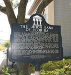 Former Union Bank Historical Marker, Tallahassee, FL