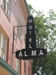 Hotel Alma Neon Sign 1, Alma, GA