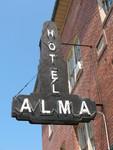 Hotel Alma Neon Sign 2, Alma, GA