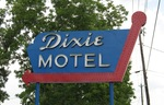 Dixie Motel Sign, Hilliard, FL