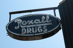 Rexall Drugs Neon Sign, Alma, GA