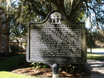 Taylor County Historical Marker, Perry, FL