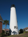 Cape St. George Lighthouse 1, St. George Island, FL by George Lansing Taylor Jr.