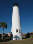 Cape St. George Lighthouse 2, St. George Island, FL by George Lansing Taylor Jr.