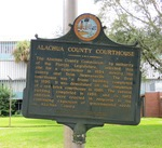 Alachua County Courthouse Marker, Gainesville, FL by George Lansing Taylor Jr.