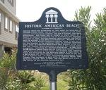 American Beach Marker, Amelia Island, FL