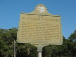The St. Augustine Amphitheater Marker, St. Augustine, FL