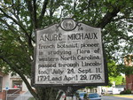Andre Michaux Marker, Lincolnton, NC by George Lansing Taylor Jr.