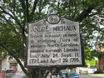 Andre Michaux Marker, Lincolnton, NC