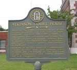 Atkinson Court House Marker, Pearson, GA by George Lansing Taylor Jr.