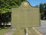 Bacon-Fraser House Marker, Hinesville, GA