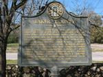Baker County Marker, Newton, GA