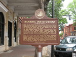 Banking Institutions Marker, Madison, GA by George Lansing Taylor Jr.
