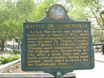 Battle of Gainesville Marker, Gainesville, FL by George Lansing Taylor Jr.