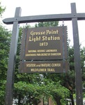 Grosse Point Lighthouse Sign, Evanston, IL
