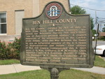 Ben Hill County Marker, Fitzgerald, GA
