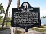 Bensen House Marker, Grant, FL