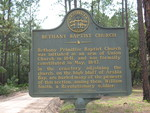 Bethany Baptist Church Marker, Clinch County, GA