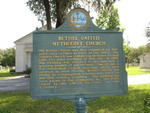 Bethel United Methodist Church Marker, Lake City, FL by George Lansing Taylor Jr.