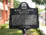 Black Catholic Heritage Marker (Reverse), St. Augustine, FL