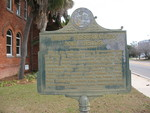 Blunt Reservation and Fields Marker, Blountstown, FL