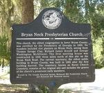 Bryan Neck Presbyterian Church Marker, Keller, GA