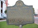 Bulloch County Marker, Statesboro, GA