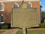 Calhoun County Marker, Morgan, GA