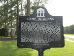 Camp Blanding Marker (Obverse), Starke, FL
