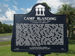 Camp Blanding Marker (Reverse), Starke, FL