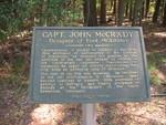 Capt. John McCrady Marker, Fort McAllister, GA