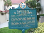 Cathedral of St. Augustine Marker, St. Augustine, FL