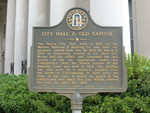 City Hall & Old Capitol Marker, Macon, GA by George Lansing Taylor Jr.