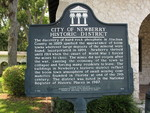 City of Newberry Marker, Newberry, FL by George Lansing Taylor Jr.
