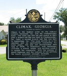 Climax Marker, Climax, GA