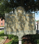 Clinch County Court House Marker, Homeville, GA by George Lansing Taylor Jr.