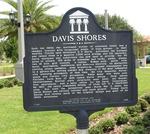Davis Shores Marker, St. Augustine, FL