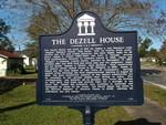 Dezell House Marker, Greenboro, FL