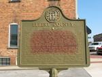 Elbert County Marker, Elberton, GA