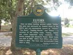 Elfers Marker (Obverse), Elfers, FL