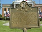Evans County Marker, GA