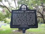 Evergreen Cemetery Marker, St. Augustine, FL