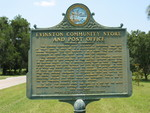 The Evinston Community Store and Post Office Marker, Evinston, FL