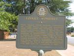 Ezekiel Wimberley Marker, Jeffersonville, GA