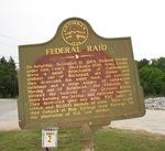Federal Raid Marker, Buckhead, GA