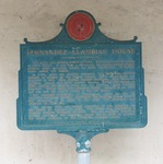 Fernandez-Llambias House Marker, St. Augustine, FL