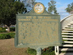 Site of the First Gadsden County Courthouse Marker, Quincy, FL by George Lansing Taylor Jr.