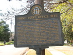 First Post Office Site Marker, Richland, GA